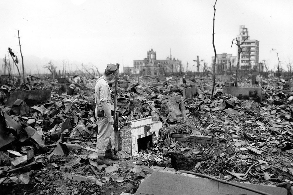 personal stance on the bombing of hiroshima by the united states Hiroshima before the bomb hiroshima after the bomb about 280,000 civilians and 40,000 soldiers were living in hiroshima when little boy struck the in conclusion, the united states should never have dropped the bombs on japan because the strategic bombing was doing a good job in cutting.
