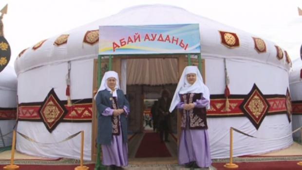 ШҚО-да киіз үй фестивалі өтіп жатыр