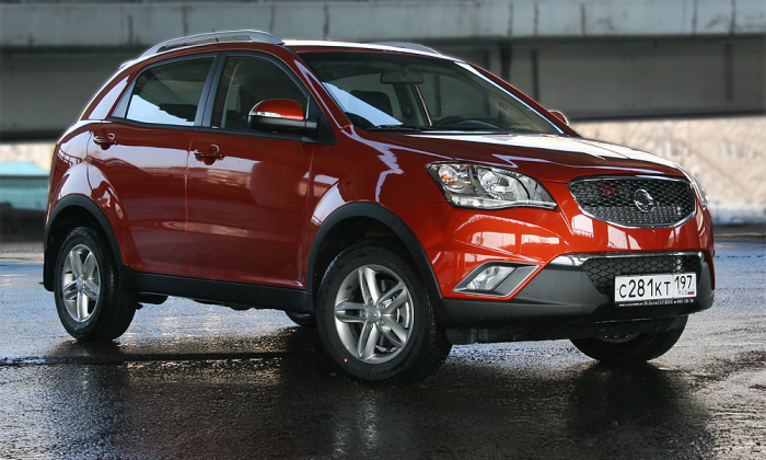 Драйв. SsangYong New Actyon