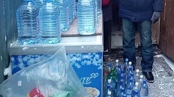 Солтүстік Қазақстанда базарлардың бірінде 135 литр спирт тәркіленді