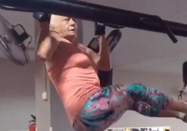 69 жастағы фитнес-әжей желі қолданушыларын таңғалдырды
