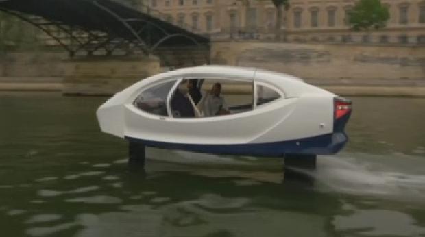 Француз өнертапқышы суда жүретін әрі әуеде ұшатын такси ойлап тапты
