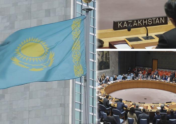 Казахстан принял участие в первом заседании Совета безопасности ООН в 2017 году