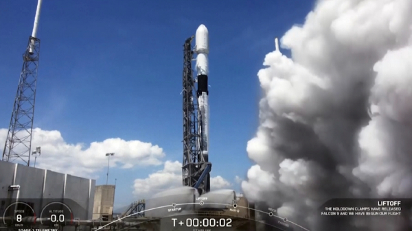 Space X كومپانياسى عارىشقا 60 سپۋتنيك ۇشىردى