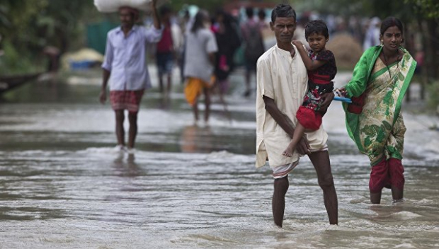 Үндістанда толассыз жауыннан 26 адам ажал құшты