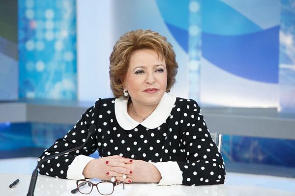 Валентина Матвиенко І дәрежелі «Достық» орденімен марапатталды