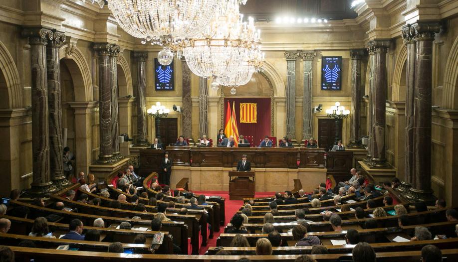 Парламент Каталонии принял закон о порядке выхода из состава Испании