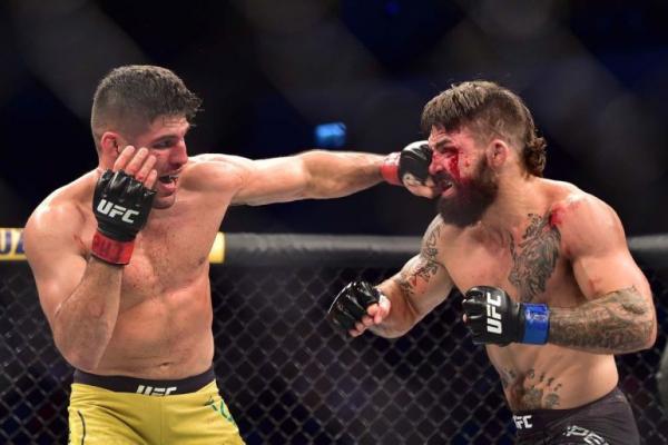 UFC спортшысы ауыр жарақат алды