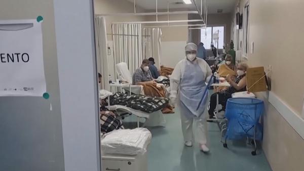 Бразилияда коронавирус дендеп барады