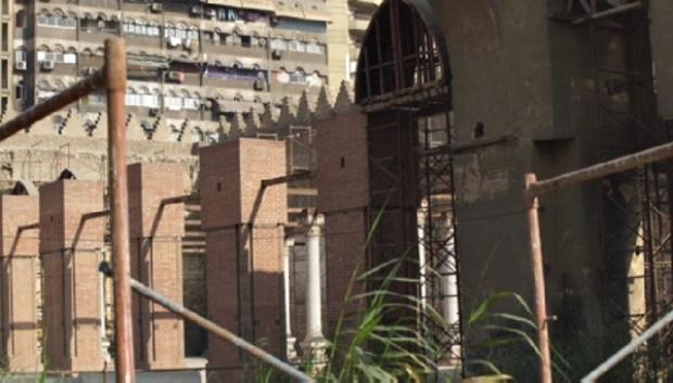 Египеттегі Сұлтан Бейбарыс мешітіне реставрация жасалып жатыр