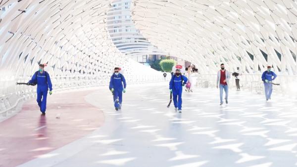 Астанада 33 млн шаршы метрге жуық жер дезинфекцияланды