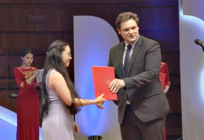 В Астане наградили победителей X Международного юношеского конкурса им.П.Чайковского