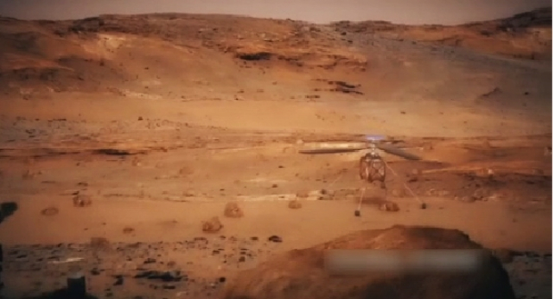 Марсты зерттеуге тікұшақ қолданылады