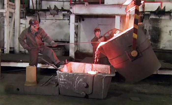 Алматинский завод тяжелого машиностроения отмечает 75-летие